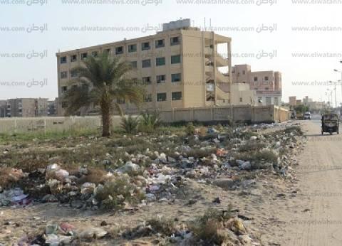 «المستقبل».. تلال القمامة تحاصر مدارس «المدينة» والطلبة معرضون للإصابة بالأمراض.. والشوارع بلا إنارة