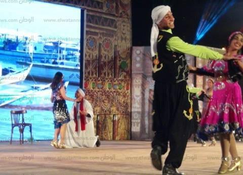 """فرقتي الإسكندرية وتايلاند الشعبيتين تحييان حفل """"الشيخ صالح"""" بأسوان"""