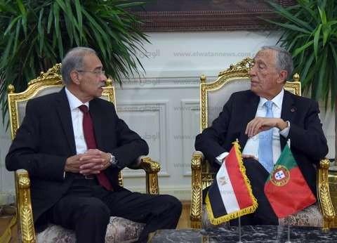 رئيس البرتغال لشريف إسماعيل: نرحب بالتعاون الاقتصادي مع مصر