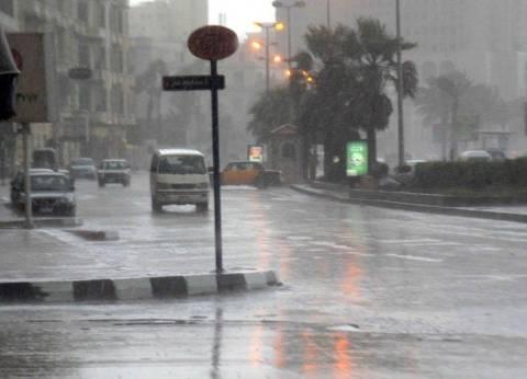 أمطار بالمدن الساحلية بالبحيرة.. وكساد في حركة البيع والشراء بأسواق المحافظة