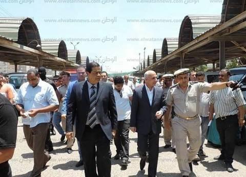 مساعد وزير الداخلية لمنطقة وسط الدلتا يتفقد موقف كفر الشيخ العمومي