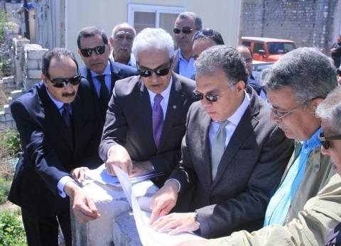 وزير النقل يوجه بالانتهاء من جراج ميناء الإسكندرية نهاية العام الجاري