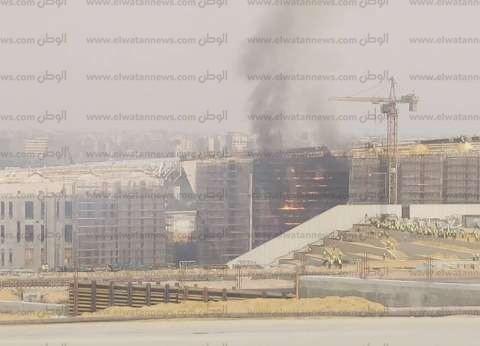 النيابة الإدارية: فتح التحقيق في حريق المتحف المصري الكبير