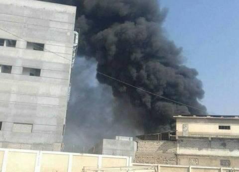 السيطرة على حريق بمصنع quotقوطة للصلبquot في مدينة العاشر من رمضان