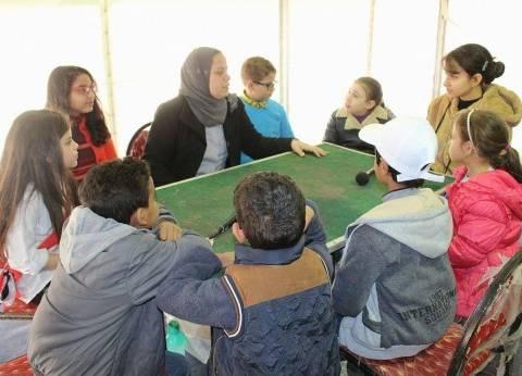 """يوميا في معرض الكتاب """"قصور الثقافة"""" تقدم ورش حكي شعبي لتأصيل القيم عند الأطفال"""