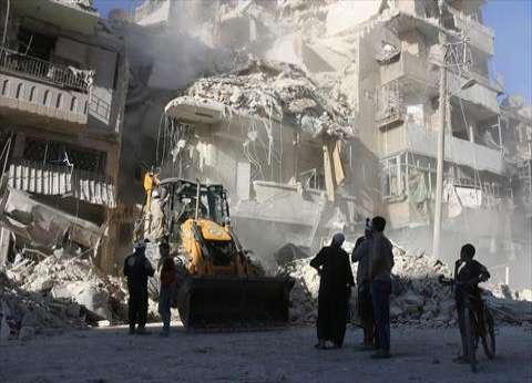 """""""الدفاع المدني"""": الأحياء الشرقية المحاصرة في """"حلب"""" منكوبة بشكل كامل"""