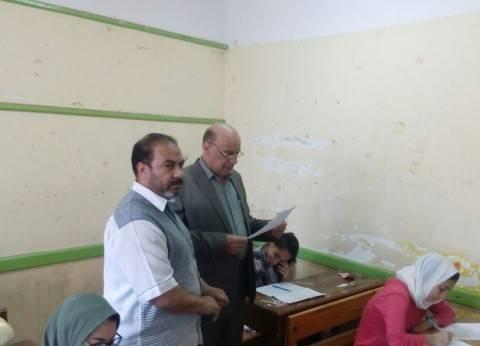 بالصور| انطلاق امتحانات الشهادة الإعدادية في الغربية