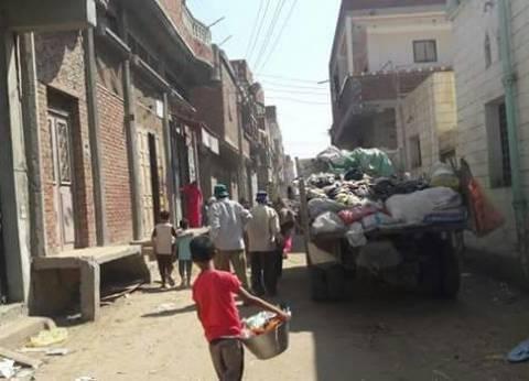 بالصور| حملة نظافة مكبرة بقرية السوالم في دمياط