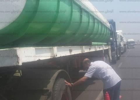 حملات رقابية ومرروية على محطات الوقود بالغربية