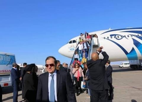 """استمرار توافد ضيوف """"شباب العالم"""".. ووصول وزير الخارجية وسفير كولومبيا"""