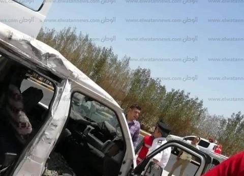 وفاة أحد مصابي حادث تصادم ميكروباص وتريلا في الغردقة