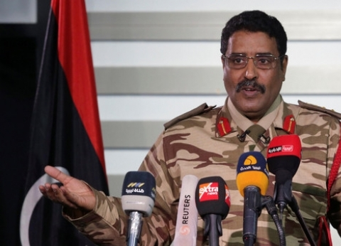 """عاجل.. """"العربية"""": تفجير بنغازي استهدف المسماري"""