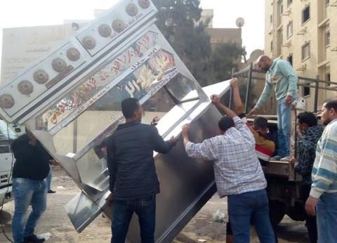 رفع 18 ألف حالة إشغالات من شوارع الجيزة خلال الأسبوع الماضي