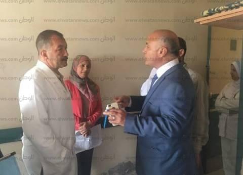 """وكيل """"صحة بني سويف"""" يفاجئ مستشفى ناصر المركزي"""