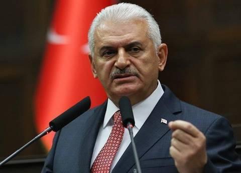 رئيس الوزراء التركي: نؤيد تطوير العلاقات مع مصر