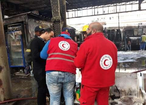 مدير الهلال الأحمر يكشف لـ«الوطن» طرق الدعم النفسي لضحايا «محطة مصر»