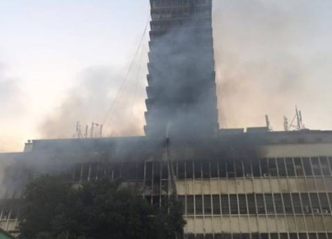 التحريات: ماس كهربائى وراء حريق سنترال العتبة ولا شبهة جنائية