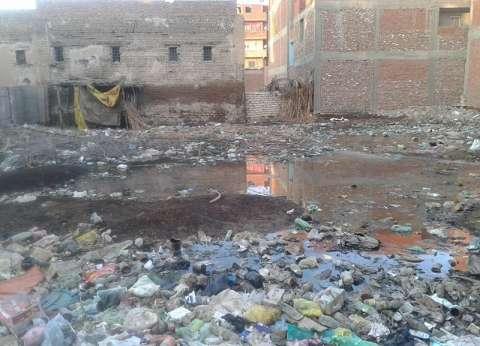 مياه الصرف الصحى تغرق منازل قرية «القبة» بالشرقية فى غياب أجهزة الحكومة