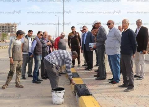 بالصور  محافظ كفرالشيخ يتفقد كورنيش البرلس استعدادا لزيارة السيسي