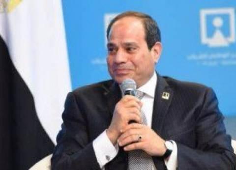 السيسي: شركات مصرية تنفذ مشروع أنفاق القناة.. والانتهاء منه 30 يونيو