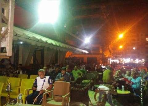 مقاهي الإسكندرية تترقب فرحة المونديال