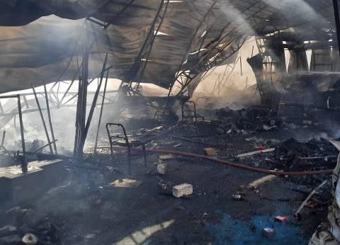 السيطرة على حريق بـ «ورشة» نجارة بأشمون في المنوفية
