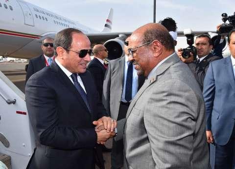 """السيسي لـ""""مفكري السودان"""": نسعى لزيادة حجم التبادل التجاري مع الخرطوم"""