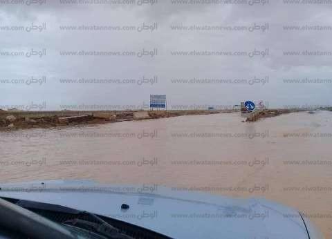 غلق بوغاز ميناءي مطروح والسلوم لسوء الأحوال الجوية