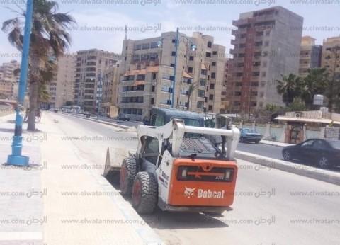رئيس مدينة مرسى مطروح: تحرير 25 محضر إشغال طريق وحملات لرفع القمامة
