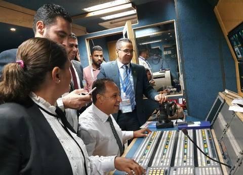 رئيس قطاع الأخبار يشكر العاملين على تغطية منتدى الشباب: شرفتوا ماسبيرو