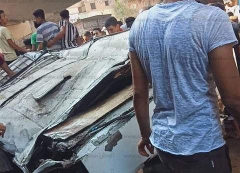 بالأسماء.. ضحايا حادث ميكروباص صفط اللبن