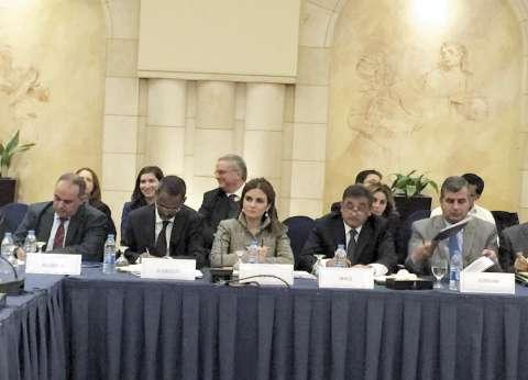 وزيرة التعاون الدولى تطالب دول العالم بدعم مصر فى محاربة الإرهاب