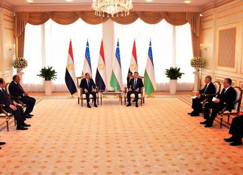السيسي وميرضيائيف يتفقان على ضرورة تكثيف التعاون بين الدول الإسلامية