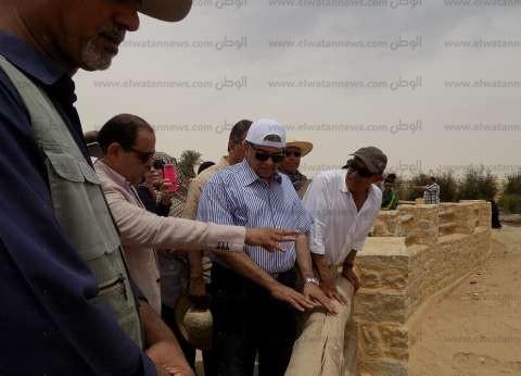 وزير البيئة من الفيوم: تطوير منطقة وادي الريان سيحولها لوجهة سياحية
