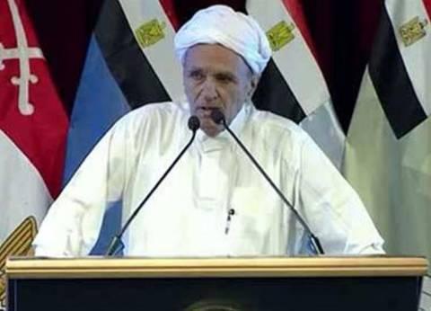 شيخ مجاهدي سيناء: السيسي رجل قريب من الله