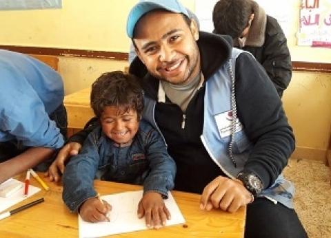 من «الإغاثة» إلى «التأهيل والتنمية».. حكايات تعافى قرية الروضة ببصمة المتطوعين
