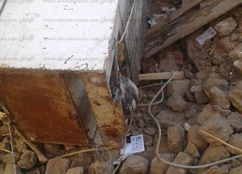 مصرع طفل وإصابة عامل إثر انهيار حائط منزل في سوهاج