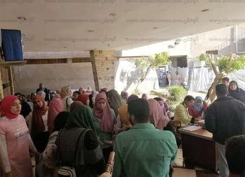 """""""مستقبل وطن بني سويف"""": كثافة تصويتية من الشباب في بني سويف"""