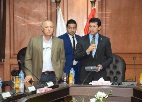 أشرف صبحي: رئيس الوزراء يترأس اللجنة العليا لأمم أفريقيا