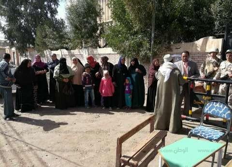 بالصور| إقبال الناخبين على لجان كفر الشيخ للتصويت في آخر يوم