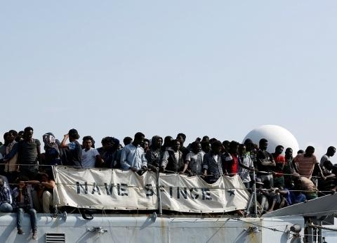 تقرير دولي: 107 آلاف مهاجر وصلوا أوروبا خلال 2018 عبر البحر المتوسط
