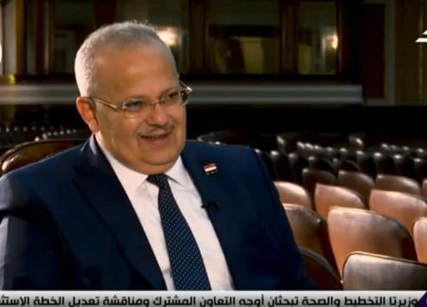 الخشت: طبقنا مبدأ الشفافية في انتخابات اتحادات الطلاب منذ انطلاقها