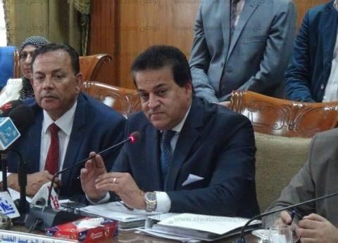 وزير التعليم العالي يشهد الاجتماع الأول لتجمعات الابتكار الصناعية