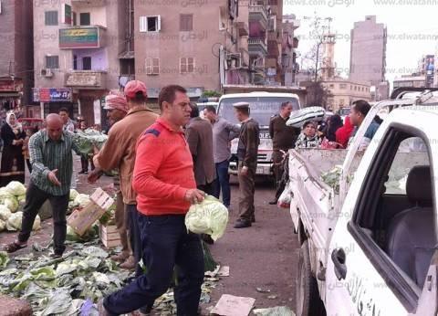 """محافظ الجيزة: حملة موسعة لإزالة إشغالات """"أرض اللواء"""""""