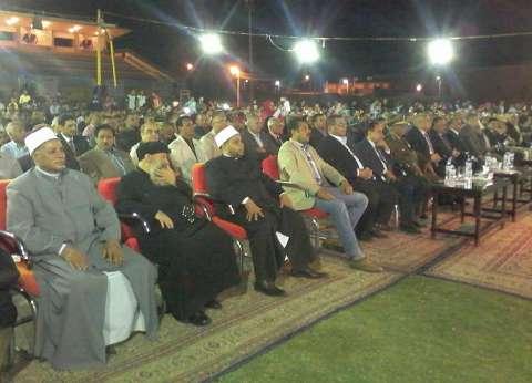 محافظ الوادي الجديد يشهد الاحتفالات بفوز السيسي بفترة رئاسية ثانية