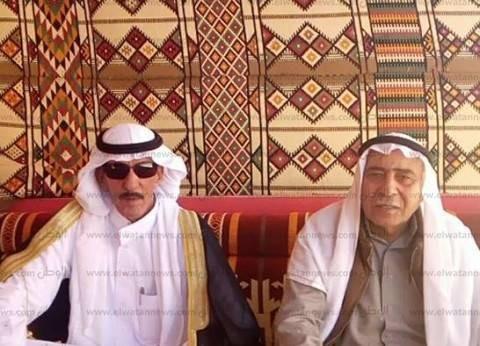 شيخ قبيلة القرارشة يهنئ السيسي بفوزه رئيسا لمصر