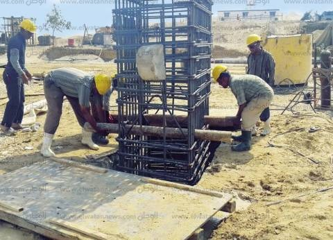 «سحارة سرابيوم»: أكبر ماكينة حفر رأسى فى العالم لاجتياز القناة