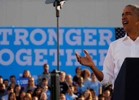 %54 من الناخبين الأمريكيين راضون عن حكم أوباما