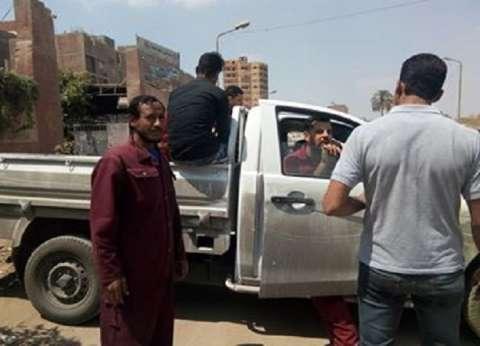 """عمال """"الغاز"""" يدلون بأصواتهم في الاستفتاء بالجيزة: """"لازم الكل يشارك"""""""