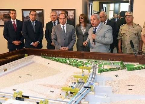 الرئيس يُقدم شباب الصعيد لافتتاح أكبر مشروع مائى بعد «السد»